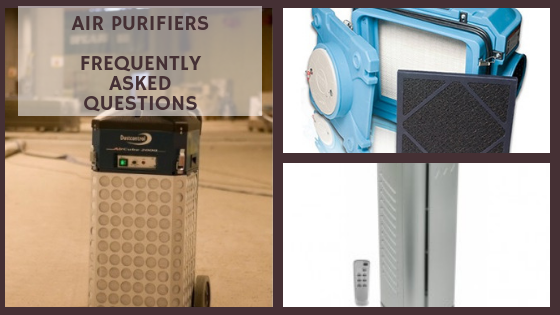 air purifiers most frequently asked questions