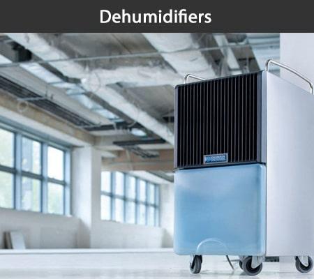Portable dehumidifiers for hire at Aircon Hire, Dublin